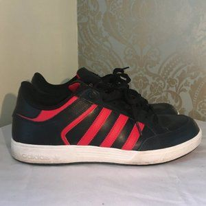 Adidas Red and Black Mens Sneakers